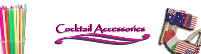 Click here for our Cocktail Accessories range of products